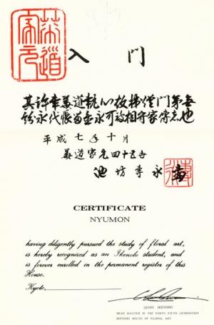 Диплом на японском и английском языках