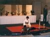 Демонстрация искусства икэбана. 1997 год