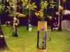 Демонстрация искусства икэбана. 2001 год