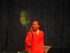 Демонстрация искусства икэбана. 2003 год