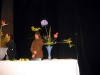 Демонстрация искусства икэбана. 2005 год