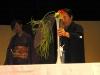 Демонстрация искусства икэбана. 2006 год