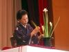 Демонстрация искусства икэбана. 2009 год