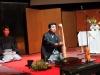 Демонстрация искусства икэбана Икэнобо Сэн Эй. 2010 год